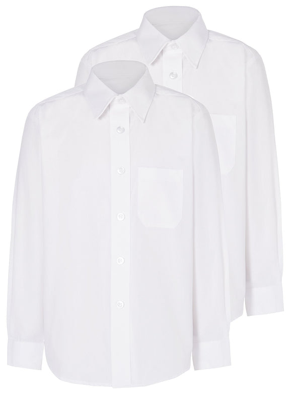 X2 White Long Sleeve Shirt (No Badge)