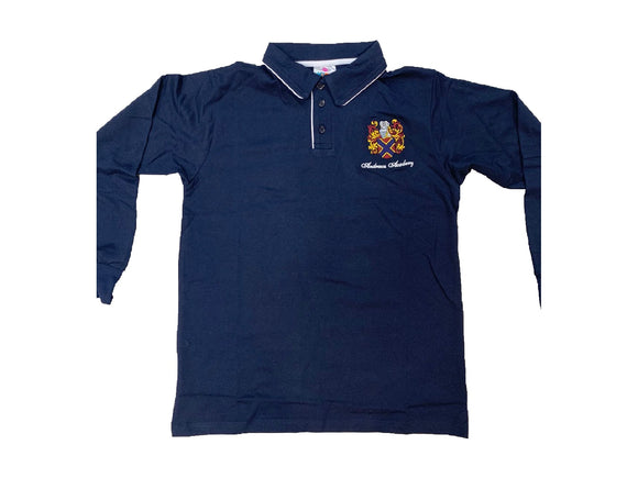 Andrews Academy Long Sleeve Golfshirt