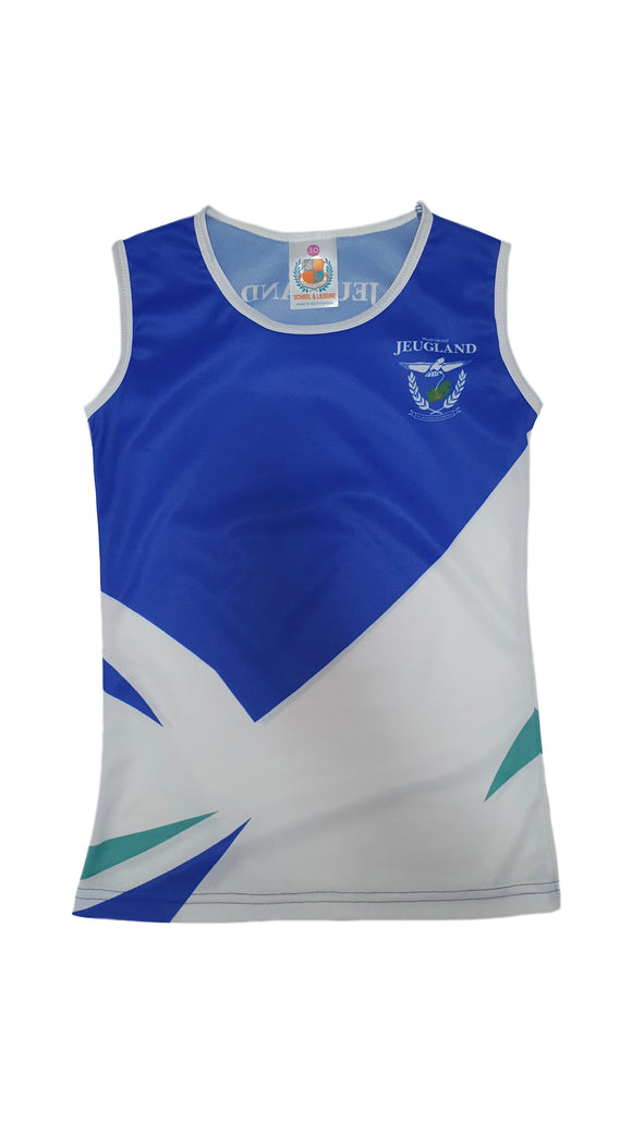 Jeugland Girls Athletic Vest