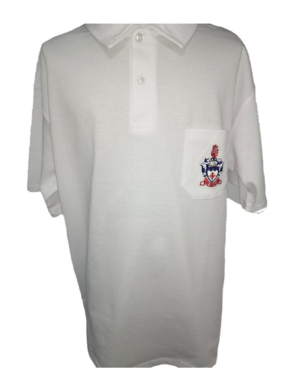 N/Cliff H Boys Badged Golf Shirt