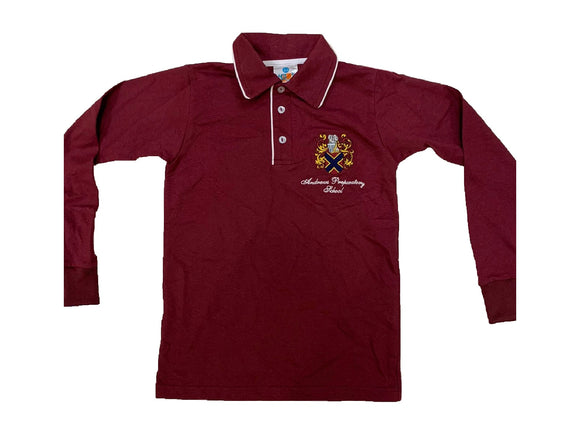 Andrews Prep Long Sleeve Golfshirt