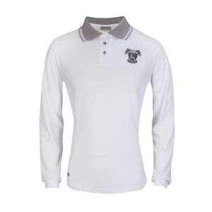 White Long Sleeve College Female Golf Shirt ( compulsory)