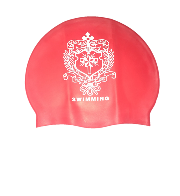 DLS Red Swimming Cap
