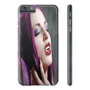 VAMPIRE WITH PURPLE HAIR  Phone Case