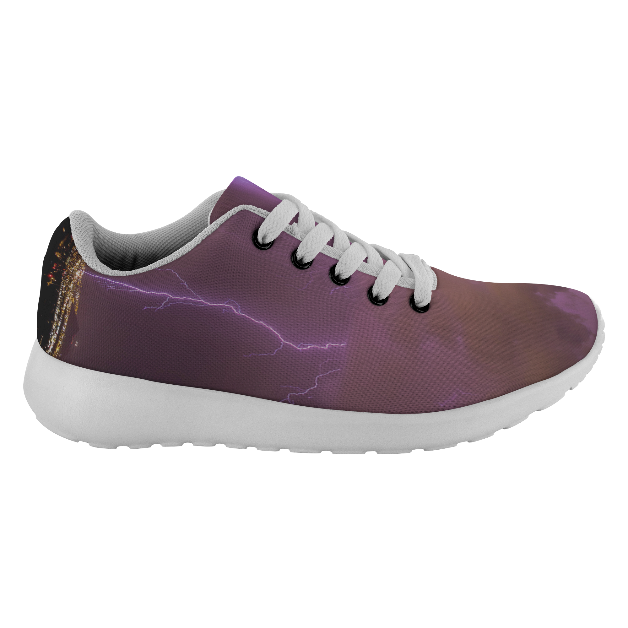 Lightning and sky shoes pod