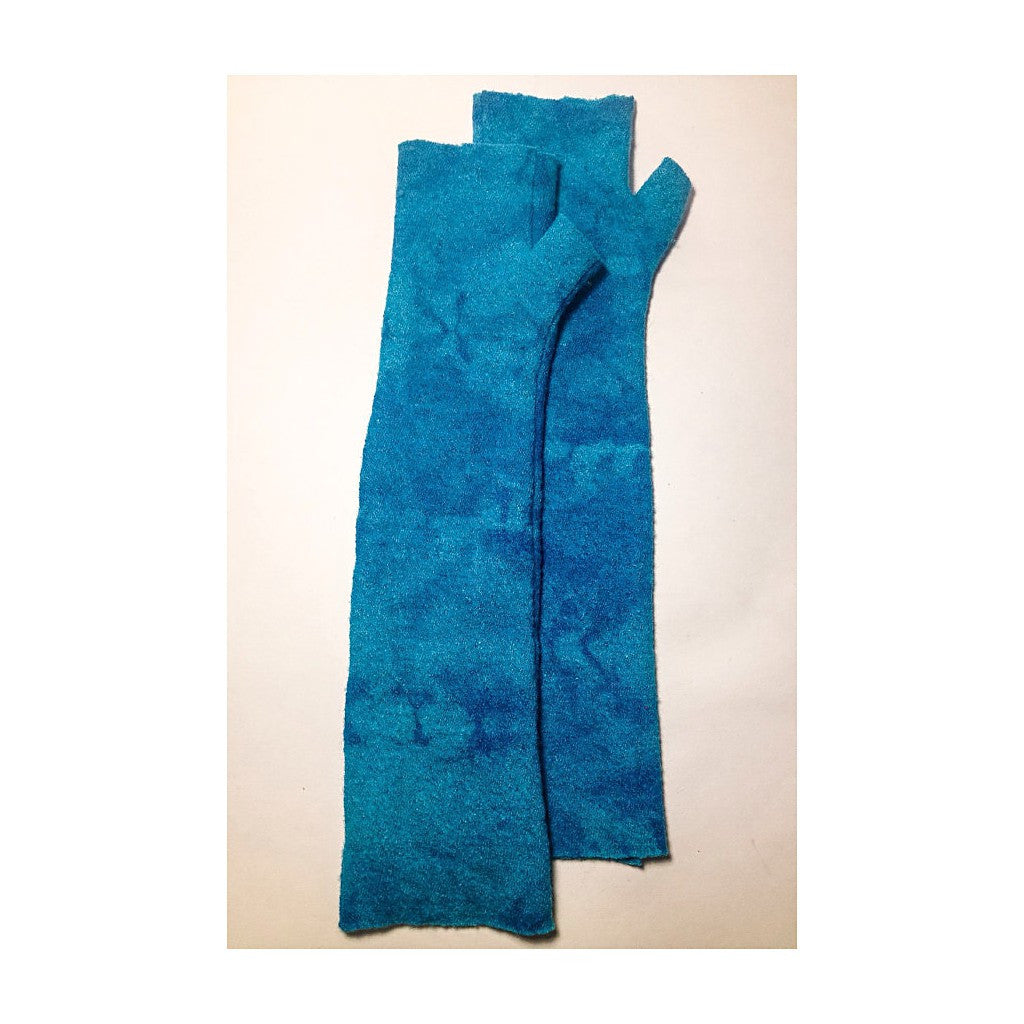 Mod Long Fingerless // Turquoise