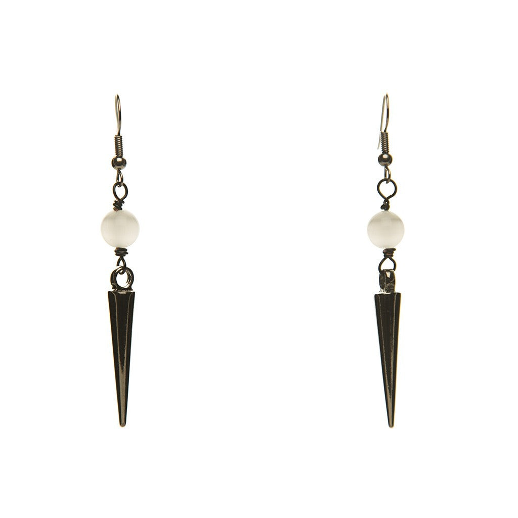 STONE DAGGER EARRINGS
