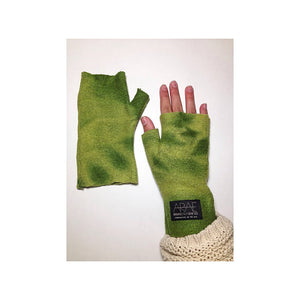 Forest Wool  Short Fingerless Gloves