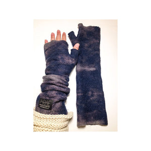 Mod Long Fingerless // Indigo