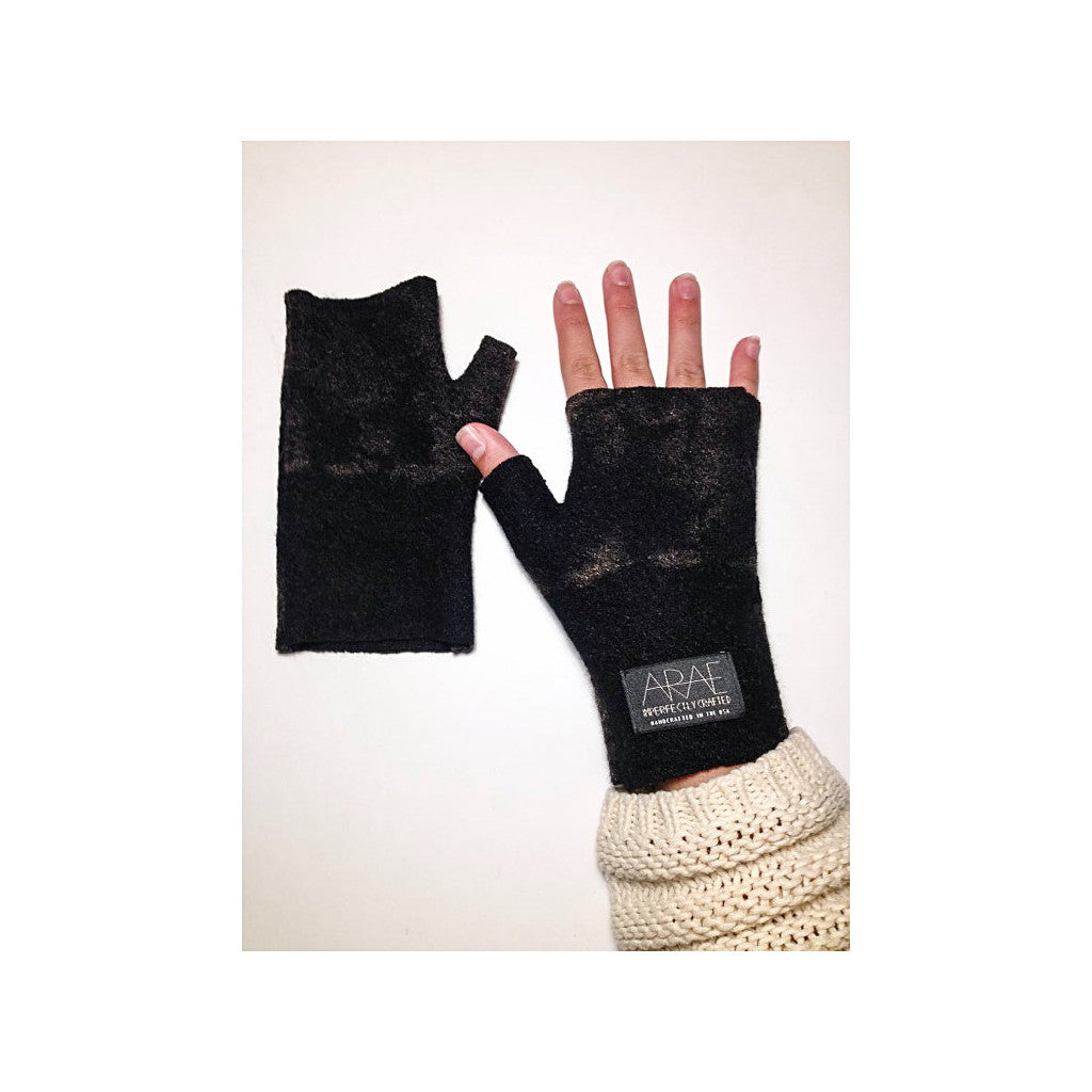 Mod Short Fingerless // Onyx