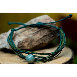 "Friendship Joya Life´s Bracelet ""In green, I swimm"""