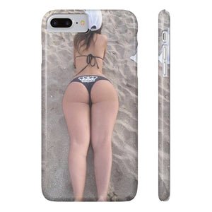 BOOTY QUEEN BEACH Phone Case