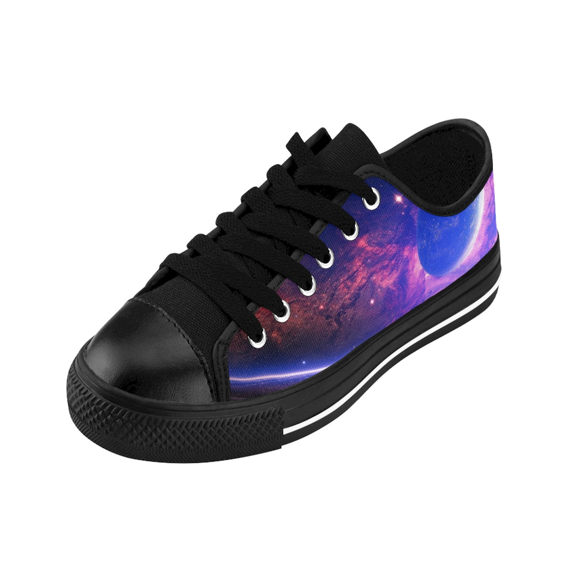 Space Planets  Men's Sneakers