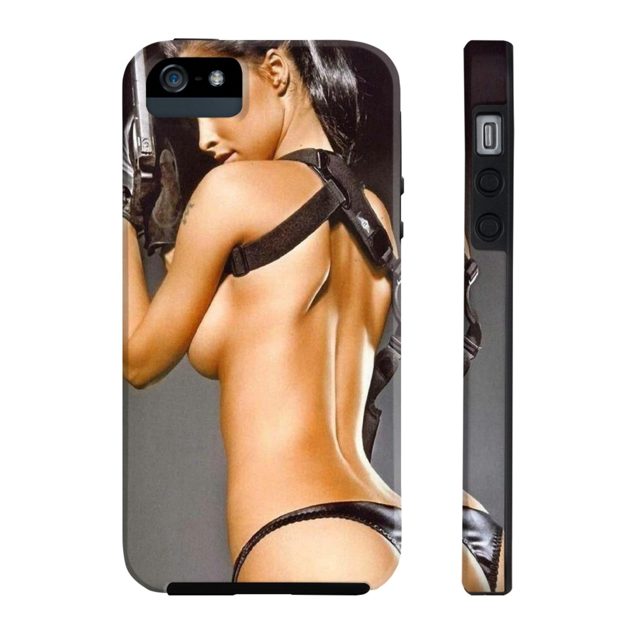 Woman and Gun All US Phone cases