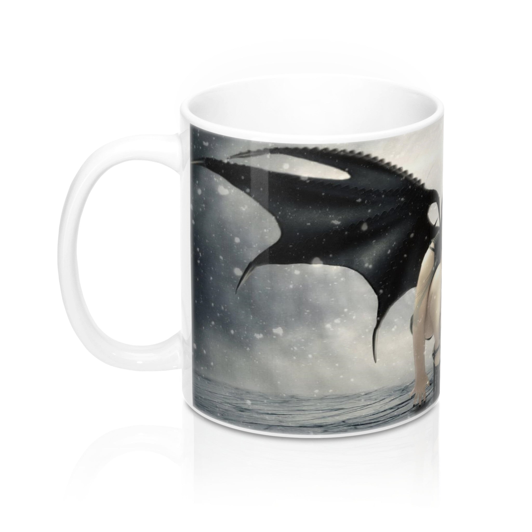 Winged Gothic Woman Fantasy   Mugs