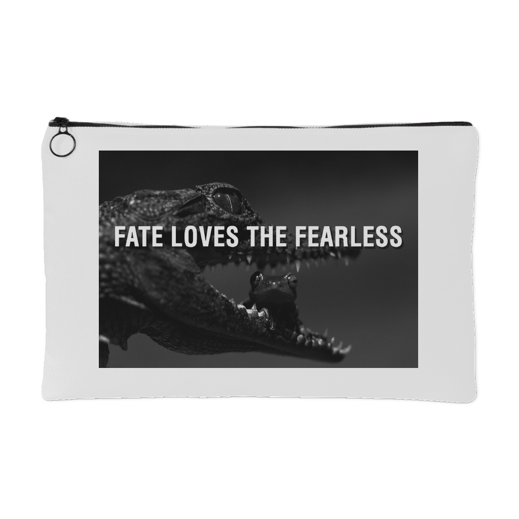Fate loves the fearless accessory pouch