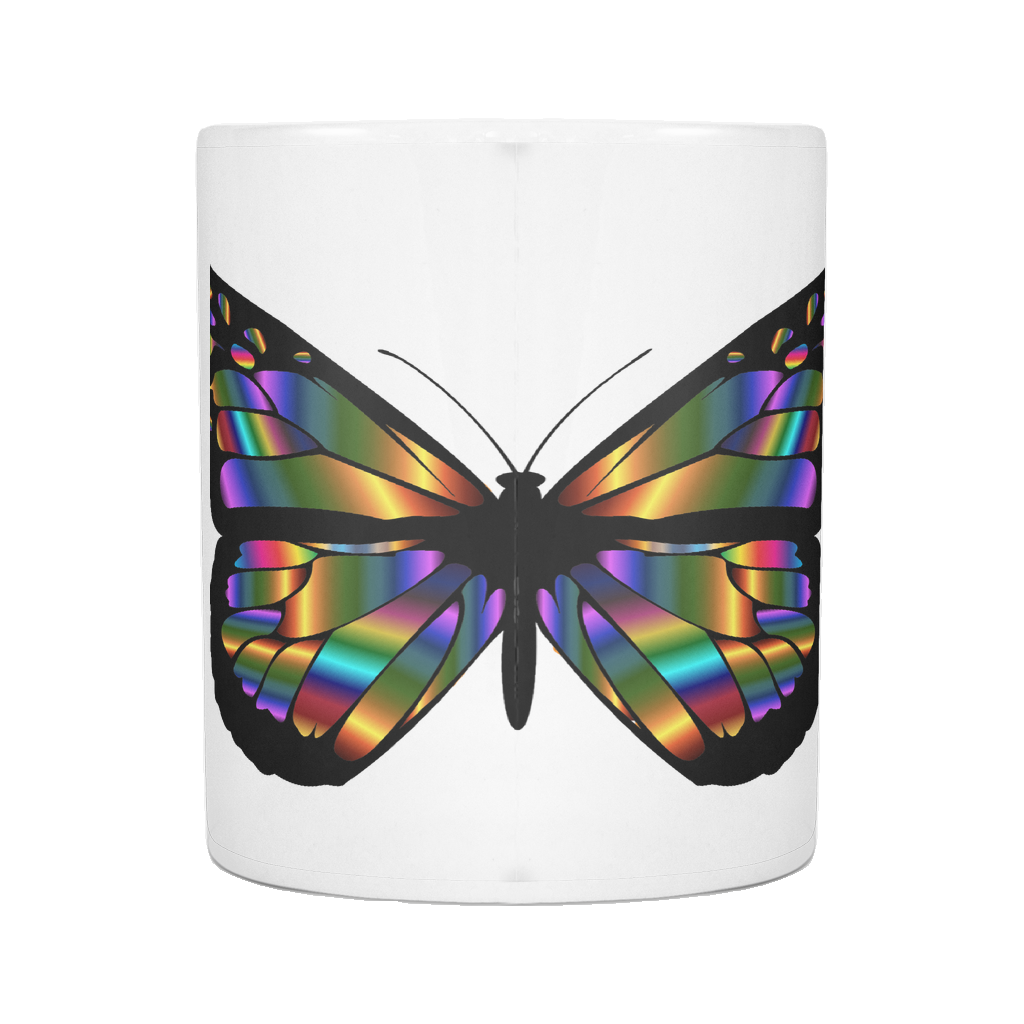 BUTTERFLY ON 11 OUNCE COFFEE MUG