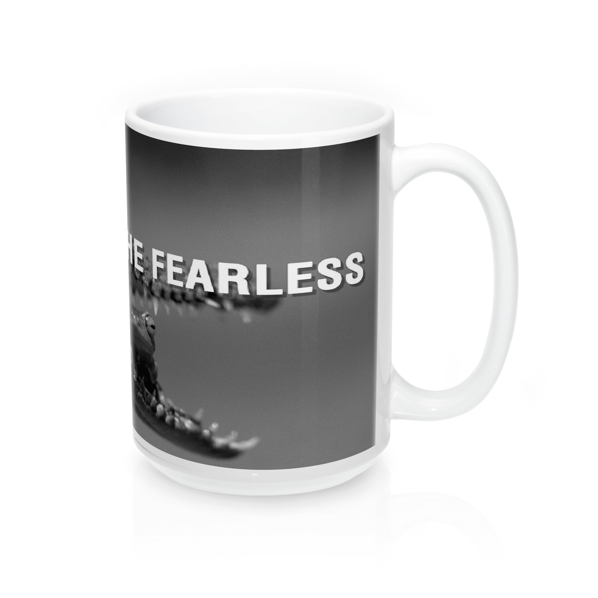 Fate loves  the fearless   Mugs