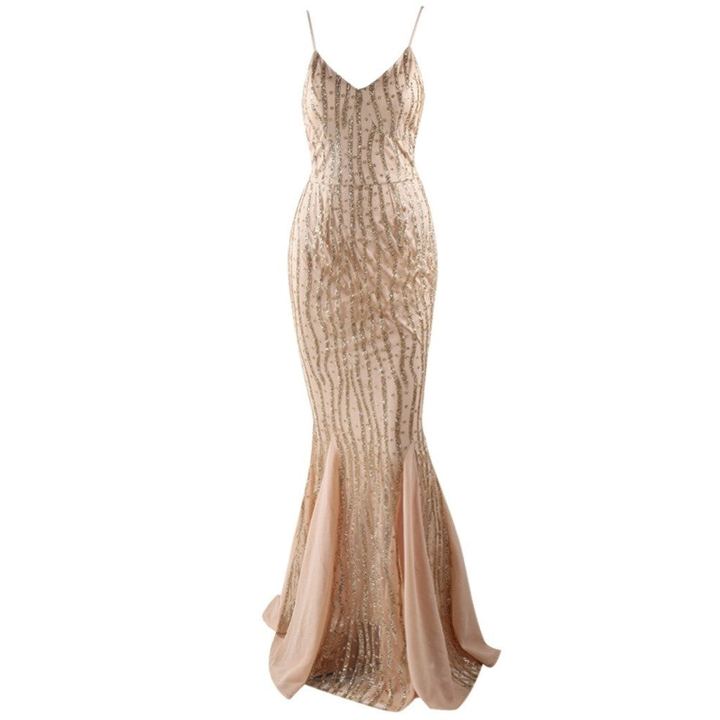 Gold Evening Gown