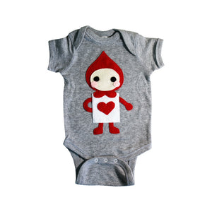 The Trumps - Heart - Alice's Adventure in Wonderland - Infant Bodysuit