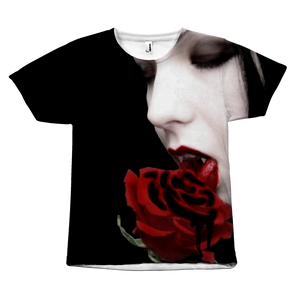 Dark Gothic Vampire Fantasy all over print T shirt