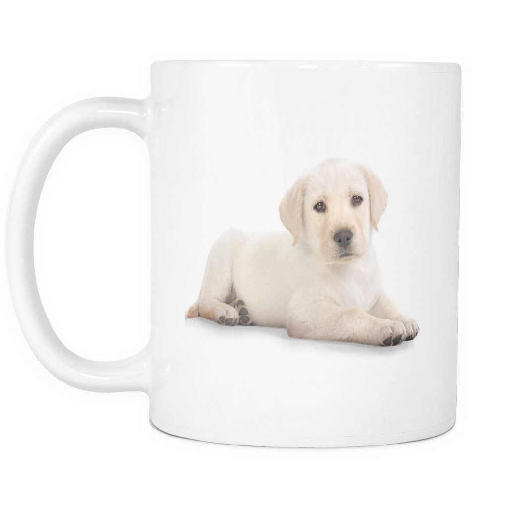 Cute dog double sided 11 ounce coffee mug