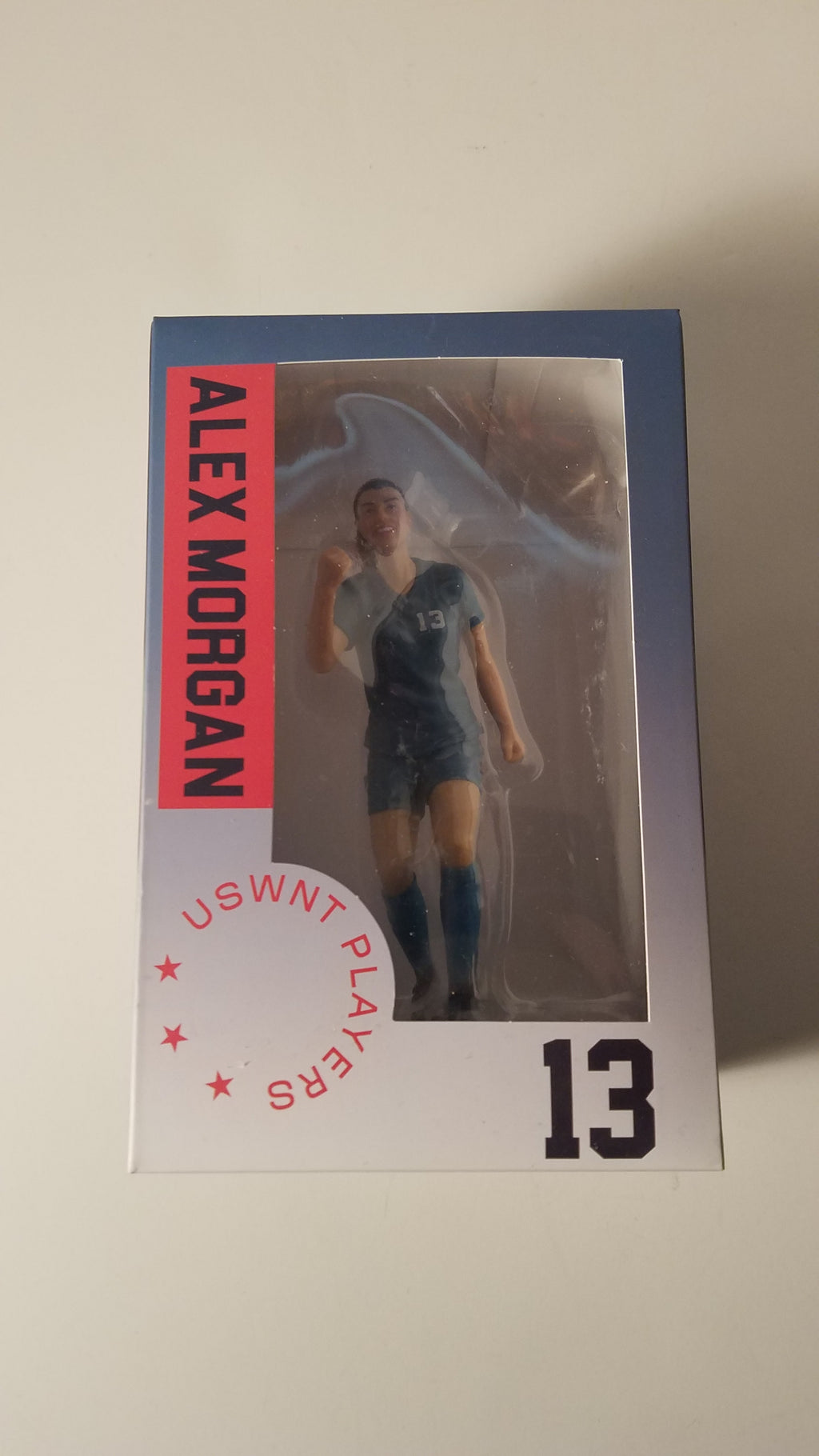 USWNT Women's World Cup Soccer Collectible Figures Alex Morgan New FREE SHIPPING