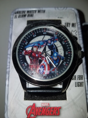 Marvel avengers mens analog watch new in box