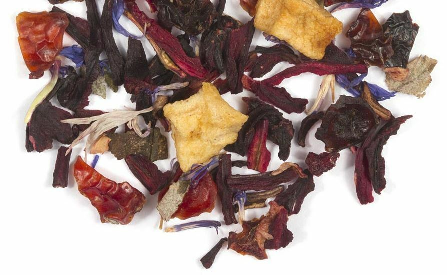 berry creme compote herbal tea 5 ounce bag fresh loose leaf