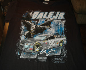 DALE EARNHARDT JR NASCAR 88 BATMAN SHORT SLEEVE T SHIRT NEW WITH TAGS