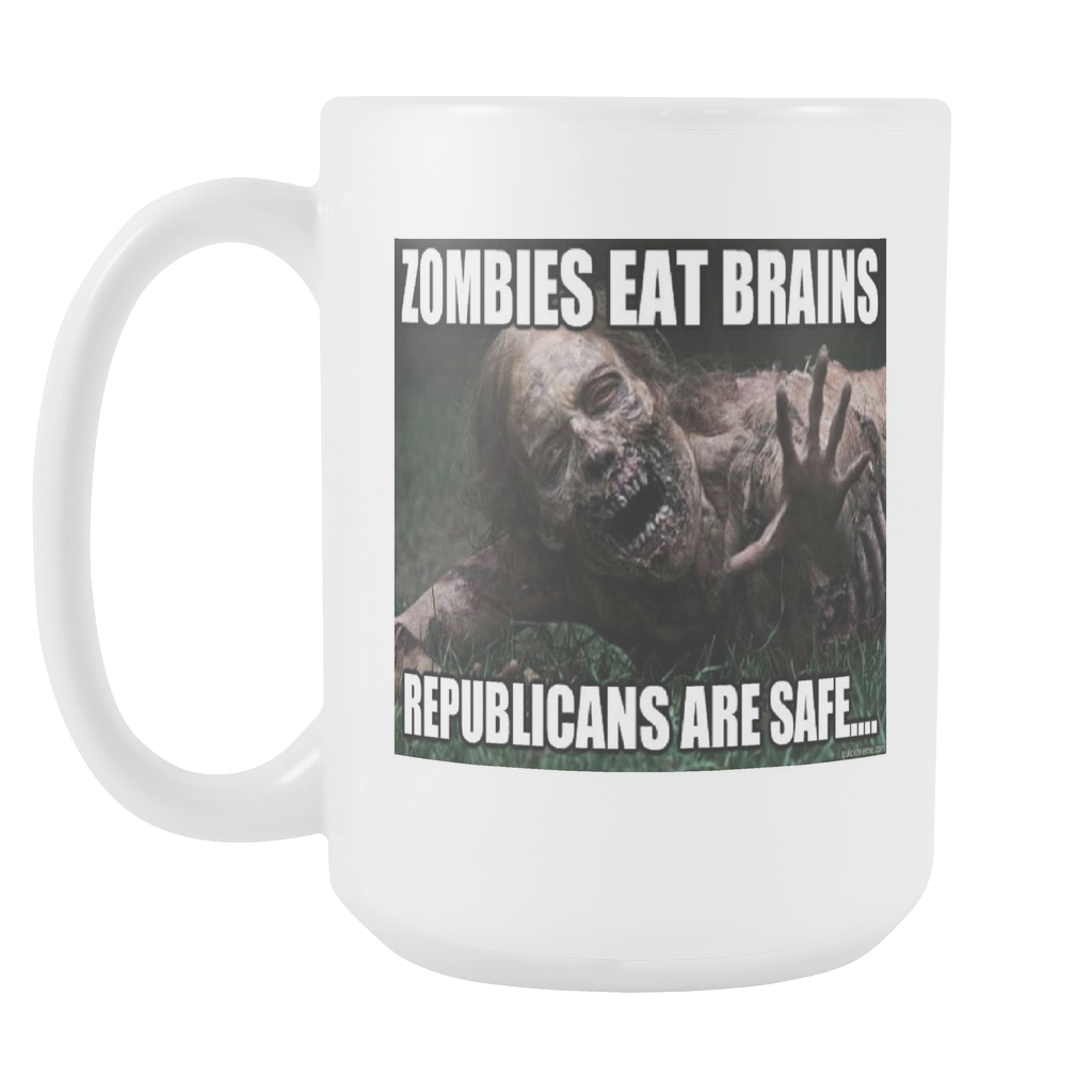 zombie meme coffee mug