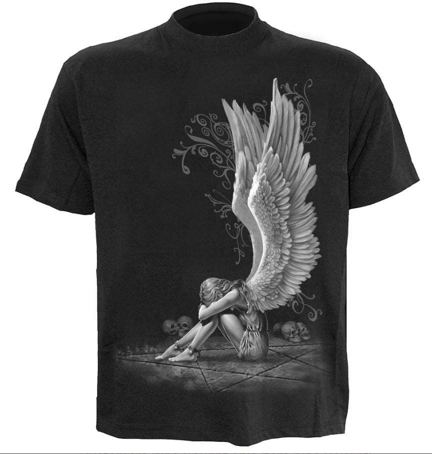 spiral direct enslaved angel gothic mens t shirt short sleeve