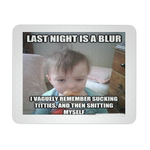 BABY PARTY MEME FUNNY MOUSEPAD