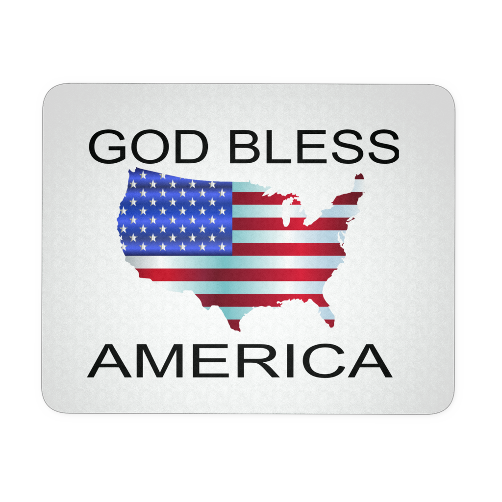 GOD BLESS AMERICA MOUSEPAD