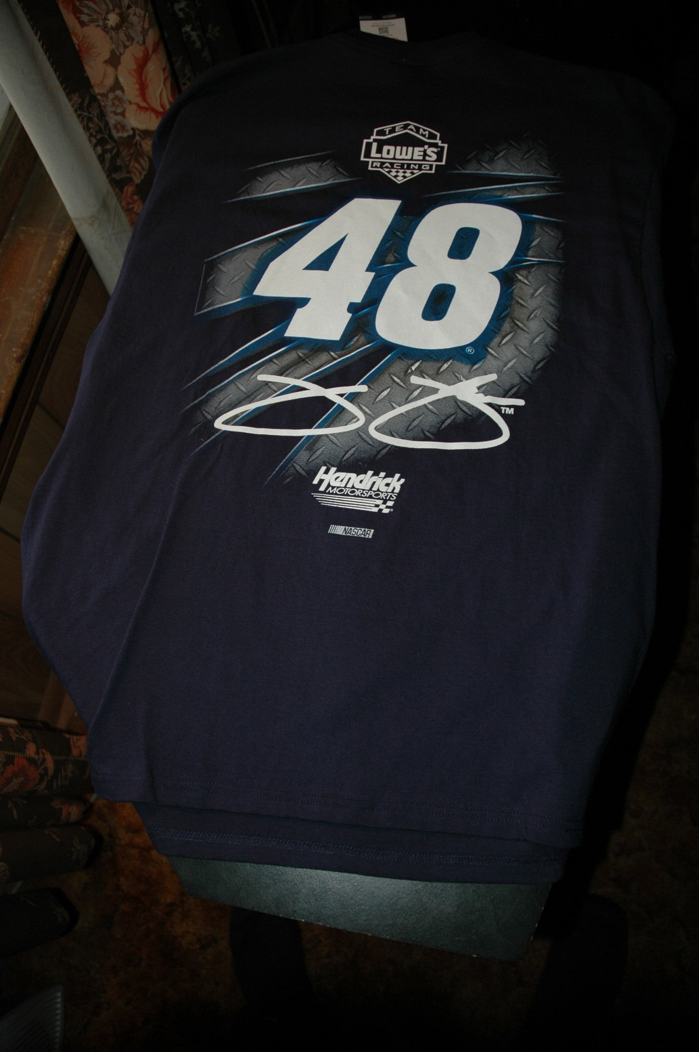nascar jimmy johnson team t shirt