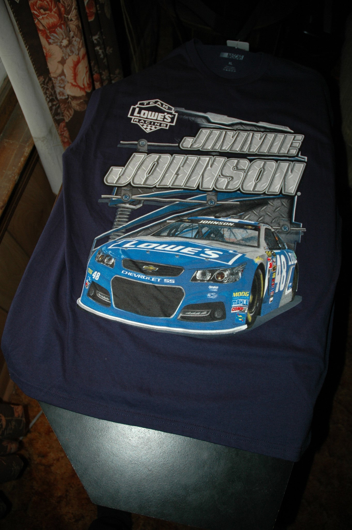 jimmy johnson nascar team t shirt