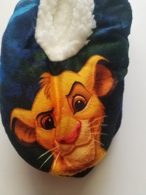Disney the lion king fuzzy babba womens slipper socks new with tags