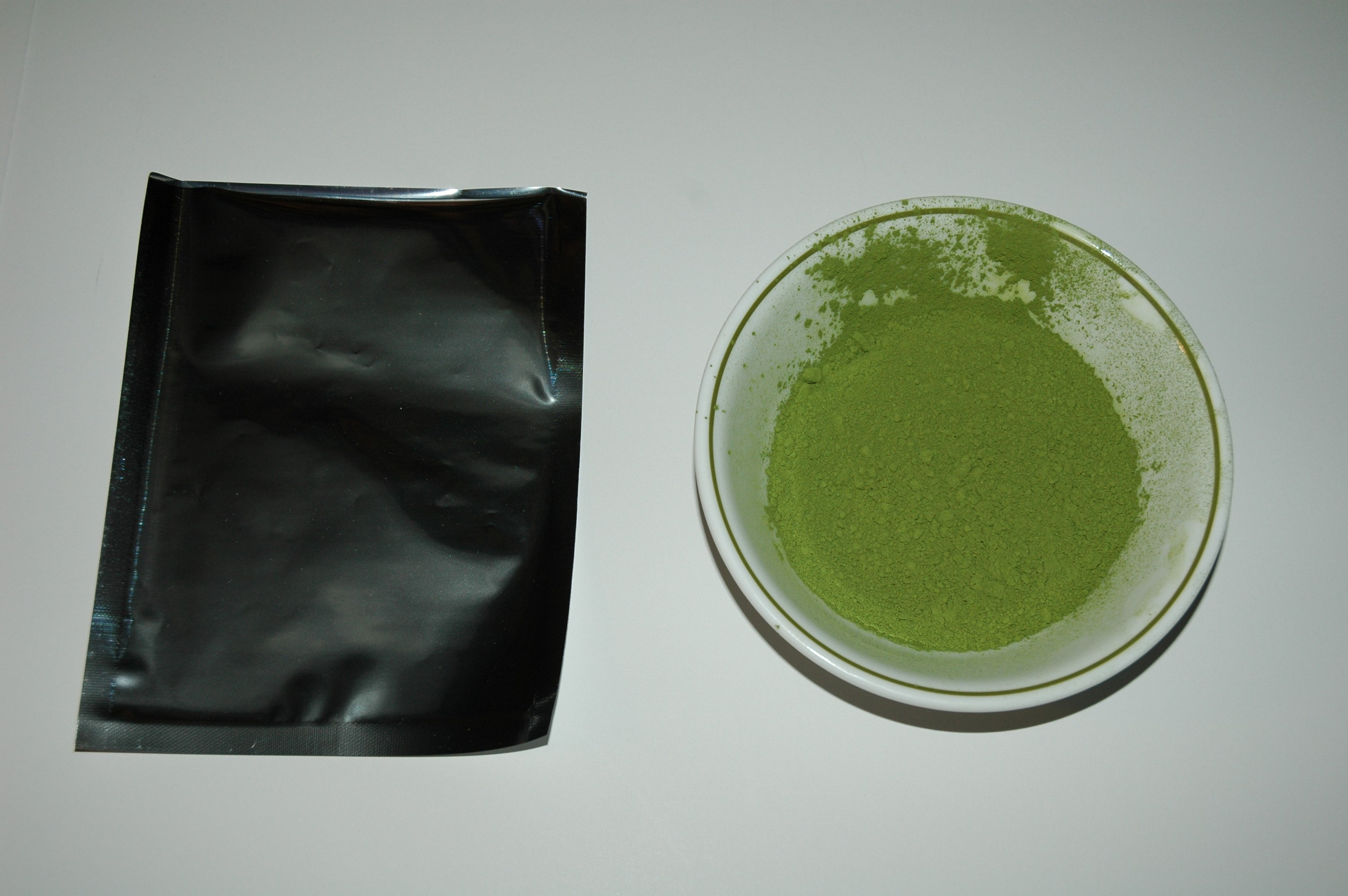 Matcha Green Tea Powder chocolate flavor 2 ounce bag