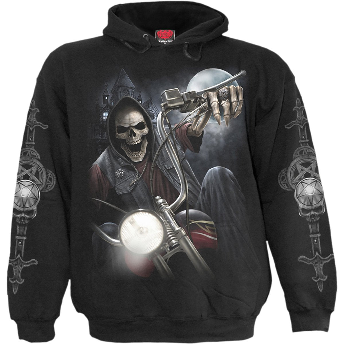 spiral direct Night church gothic mens graphic hoodie shirt