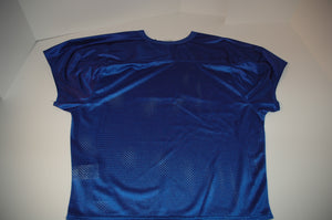Nike mens core practice Blue Mesh football jersey shirt style 659180