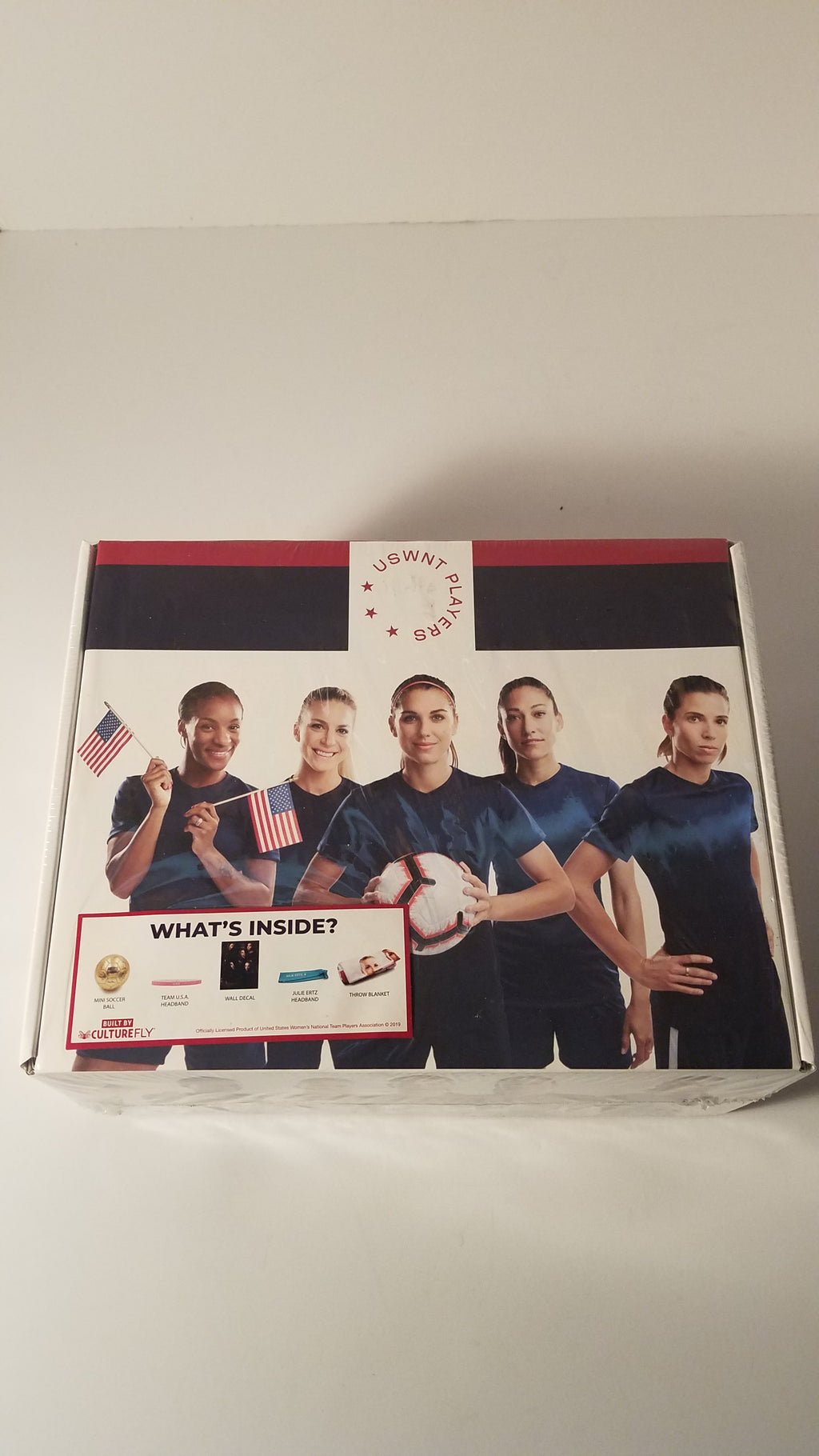 USWNT Players USA Soccer World Cup Collectors Box Gift Set factory sealed
