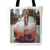 WOMAN ON A HOT CAR TOTE BAG