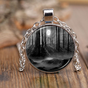Gothic Moon Neclace