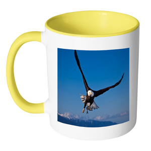 Eagle wings accent mugs 11 ounce size