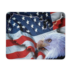 American Freedom Flag and Eagle Mousepad