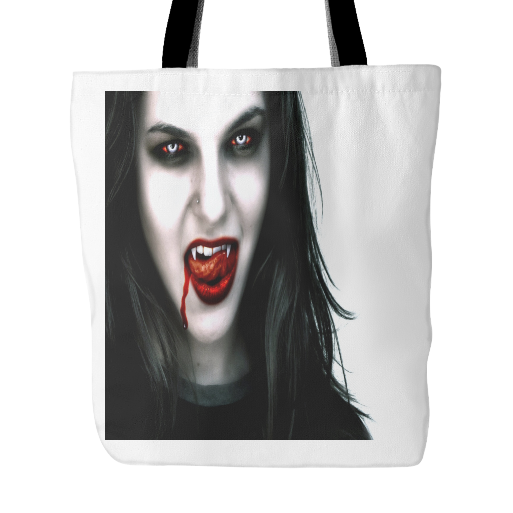 VAMPIRE WOMAN TOTE BAG