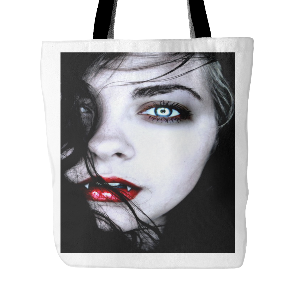 VAMPIRE EYES GOTHIC TOTE BAG