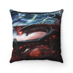 Fantasy Art  Spun Polyester Square Pillow