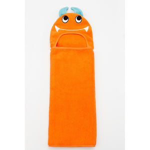 Monster Hooded Cotton Turkish Towel: Baby
