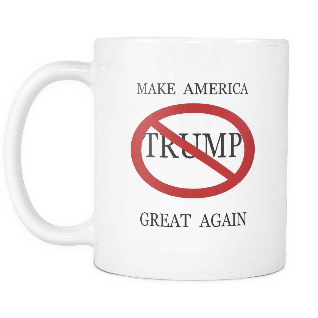 MAKE AMERICA GREAT AGAIN TRUMP 11 OUNCE DOUBLE SIDED COFFEE MUG